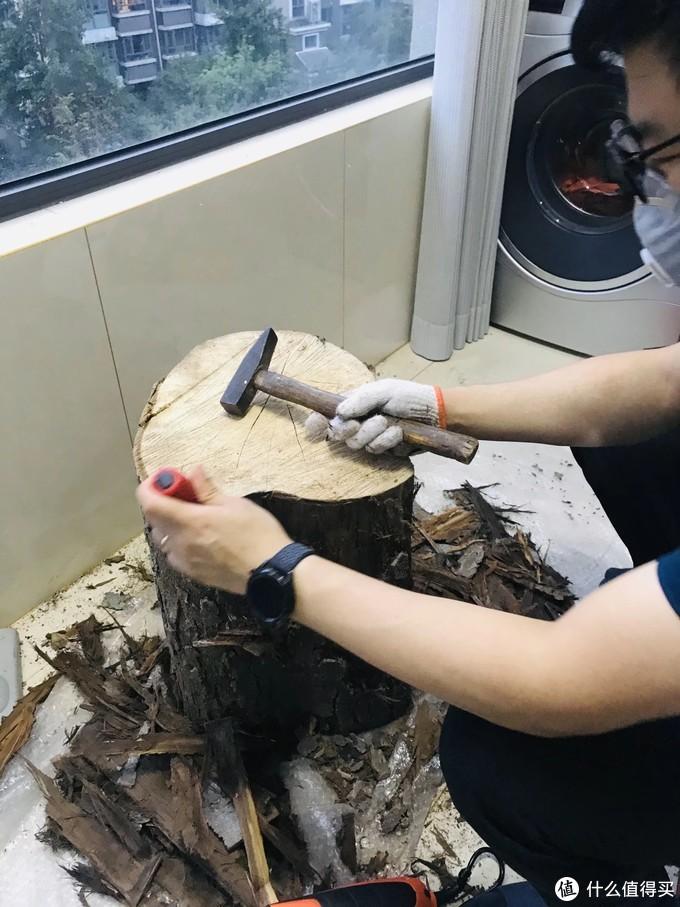一段废材砸出来的滴胶坑