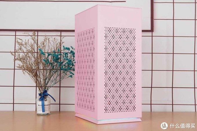送给妹纸的电脑,可爱电竞主机这么配,爱国者YOGO S1粉色装机分享