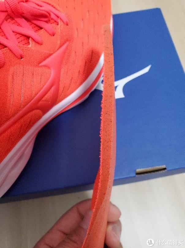 鞋垫带碳,厚度不错,美津浓鞋垫好评