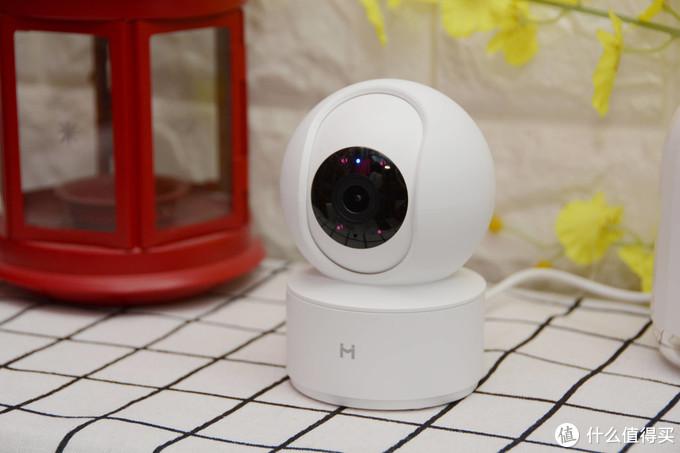 米家远程控制 全景高清 上手体验小白智能摄像机云台版Y2
