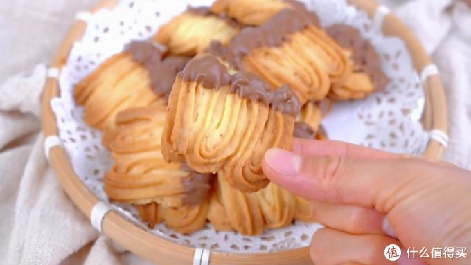 自制法式传统曲奇,奶香醇厚,口感酥脆