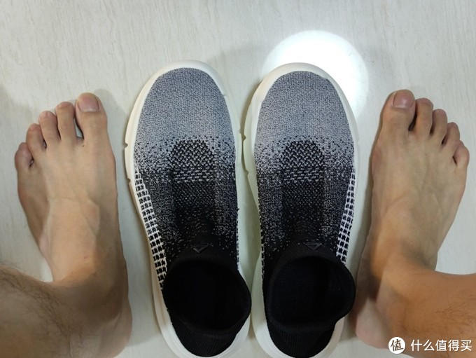 匹克 | 拂风态极袜子鞋 上脚