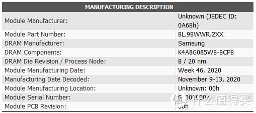 具体颗粒信息和生产日期