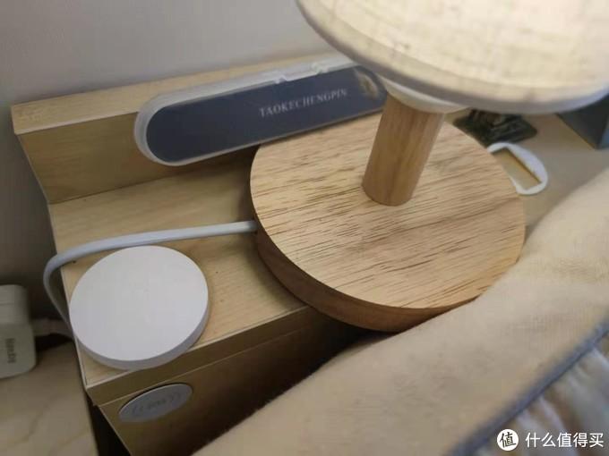 小米无线开关+网关,三重操作管住家里两组灯