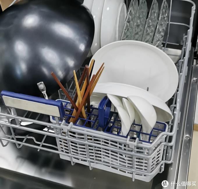 14套超大容量:自动开门烘干的华凌Hop9 智能洗碗机体验分享