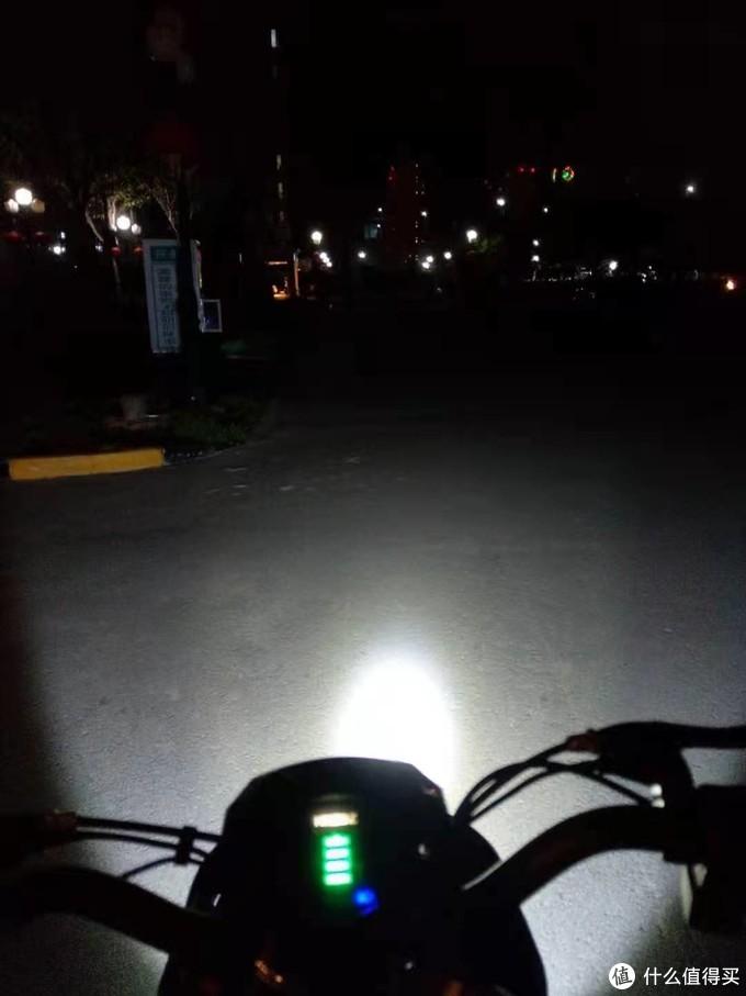 改装完以后的LED大灯