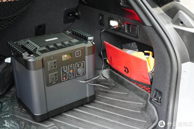 露营爱好者必备--2220Wh、峰值4000W输出!单体容量最强户外移动电源体验