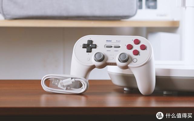 手感突破想象,游戏玩家必备神器,八位堂Pro 2蓝牙手柄体验!