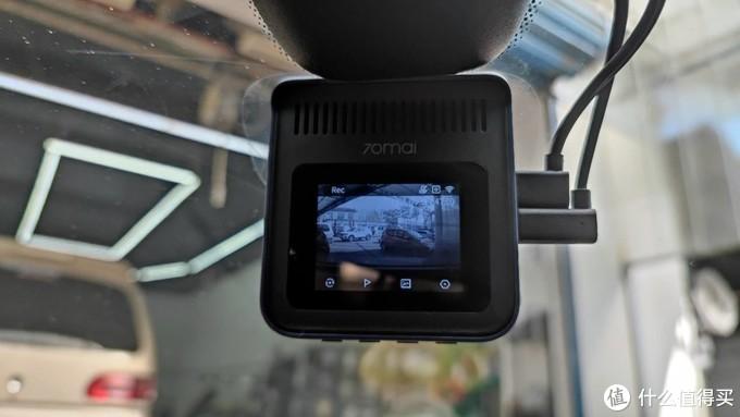 2.9K高清画质、超广角前后双录、高颜值70迈记录仪魔方A400体验