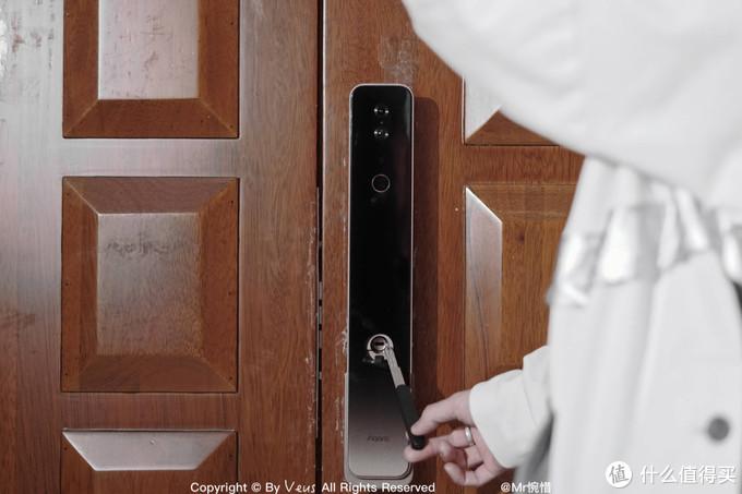 Aqara 全自动智能猫眼锁H100——打通猫眼与门锁的安防链路