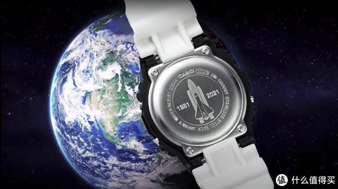 G-Shock 再推 NASA 特别纪念版腕表 | 用最经典的黑白配色展现航天飞机的美感