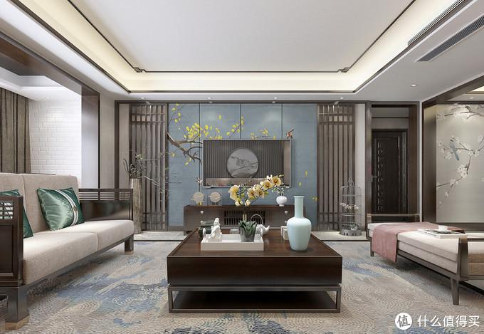 她家168㎡的大平层,装非常禅意的中式风,入户就吸引了我,很惊艳