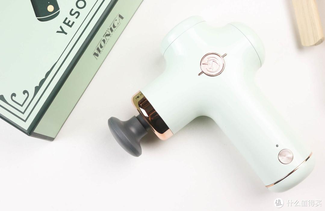 野小兽MG11筋膜枪评测:380g超轻+复古造型,好看更好用