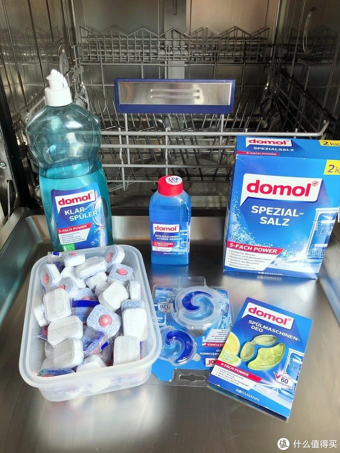 常见的洗碗机清洁用品