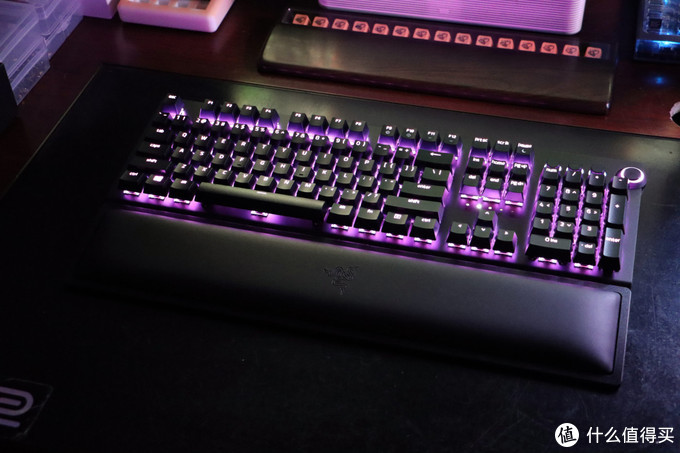 雷蛇黑寡妇蜘蛛V3无线版机械键盘 拆解+换轴+升级改造
