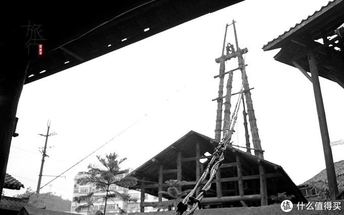 燊海井还在使用的天车