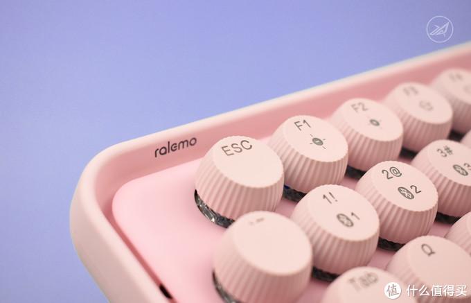 感受全新键帽形态 - 雷柏 Ralemo Pre 5三模无线机械键盘