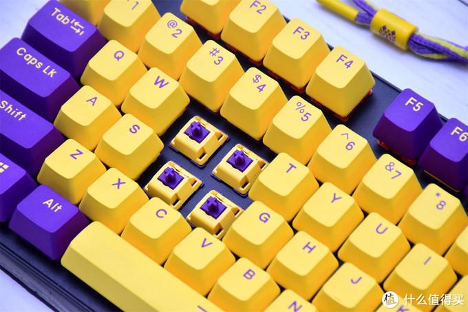 为打造主题,这品牌居然玩起了客制化,达尔优A87紫金轴机械键盘分享