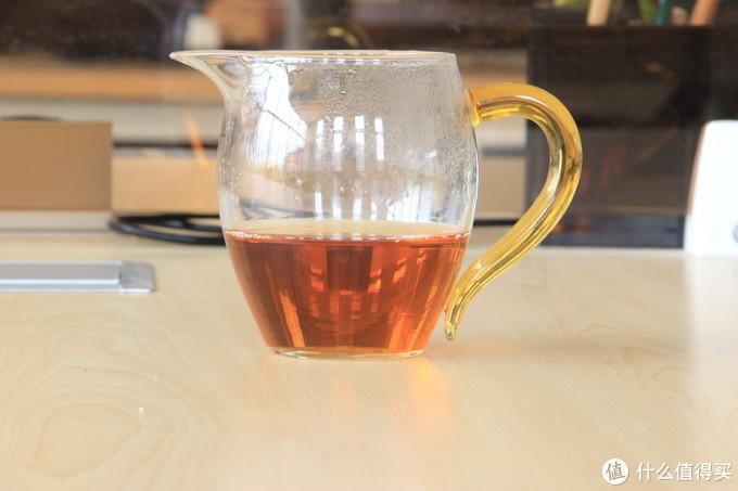 普通小种茶汤——公道杯