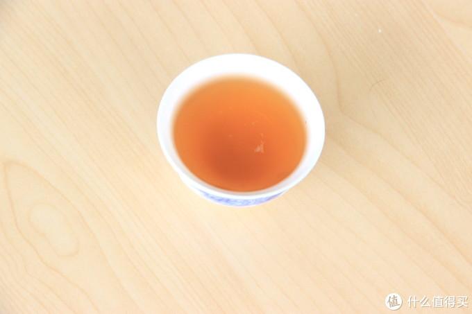 普通小种茶汤——品茗杯