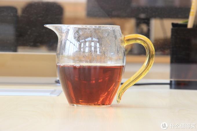 金丝蕊茶汤——公道杯