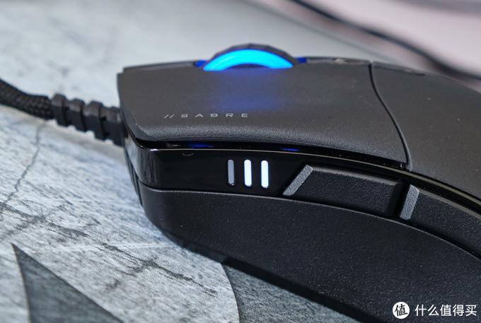一剑在手天下走,美商海盗船Sabre RGB Pro游戏鼠标