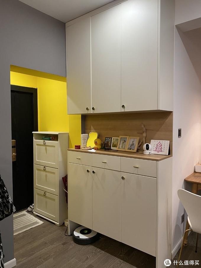 修修补补又一年!家装改造--整面墙鞋柜方案分享