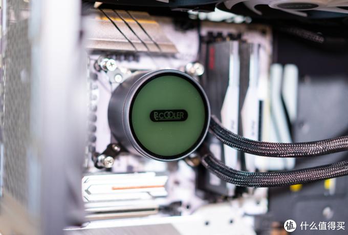 5G频率的i5-11600KF单烤FPU仅70℃!这款360水冷立功了