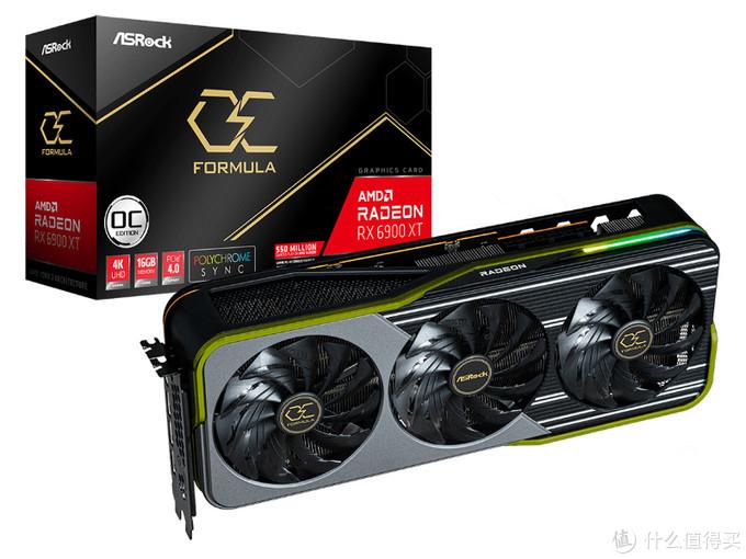 """华擎发布顶级RX 6900 XT显卡,OCF""""超频方程式""""系列回归"""