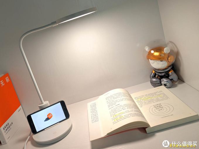 读书学习伴侣,是台灯也是电子设备支架,慧作悦彩AA级护眼读写台灯体验
