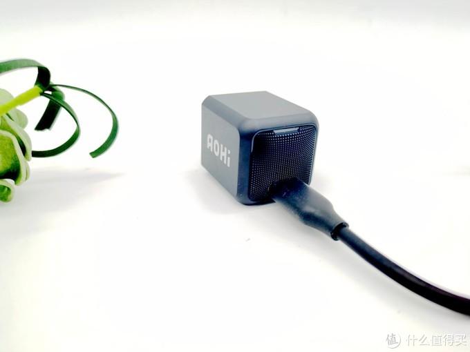 AOHI Magcube30w拇指大小,微型大功率充电器亮了