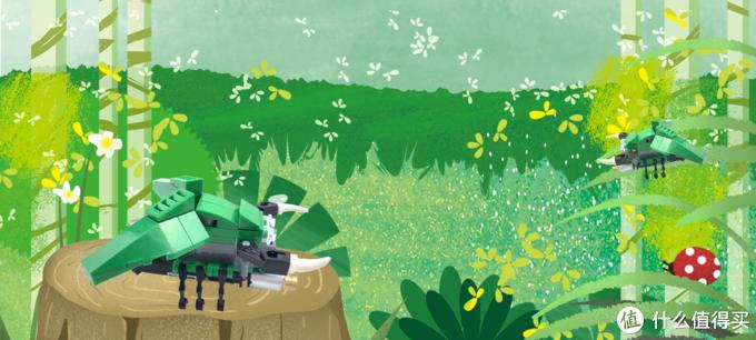 无需编程的BEEM积木机器人~适合小孩子DIY小制作