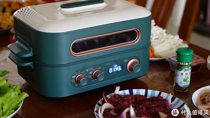 欧阳娜娜同品牌网红国货,美的双子多功能料理炉评测