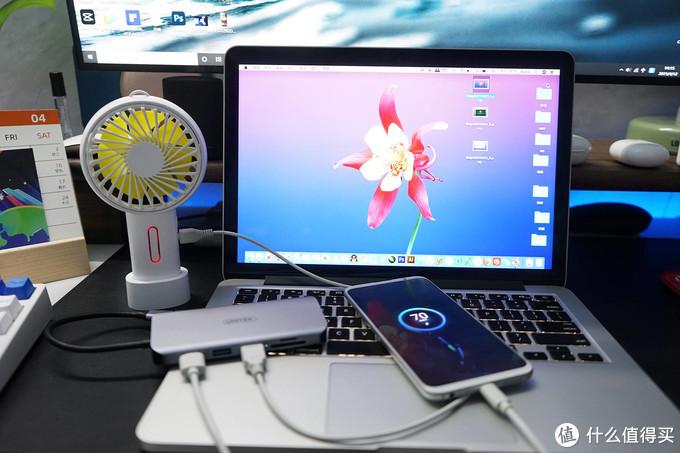 笔记本电脑接口扩展神器!优越者九合一Type-C扩展坞评测
