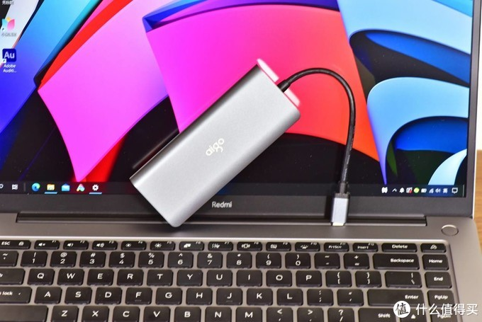 RedmiBook PRO最佳搭档?自带100W充电,外加白嫖5个接口
