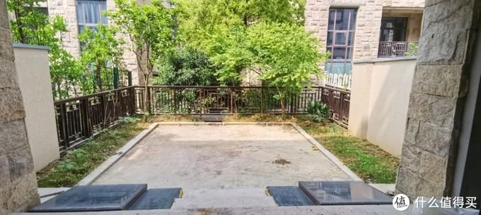 花园,中间固化,边上留了点自己种的