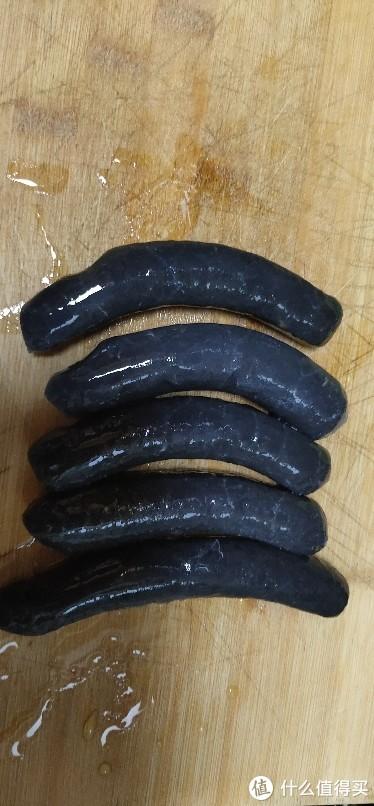 黑香肠美尔客墨鱼肠无淀粉黑色烤肠正宗日式香肠台式海鲜肉肠烤肠香肠