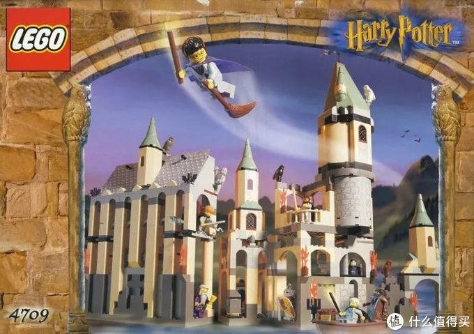 乐高哈利·波特系列20年间的4次霍格沃茨城堡合体盘点