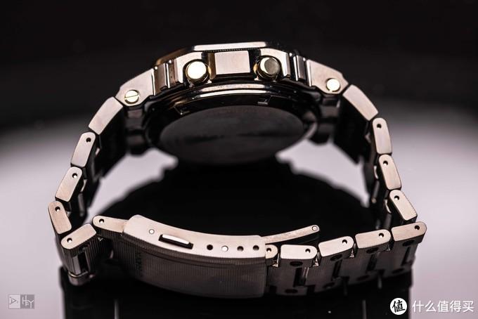 钛合金卡西欧+1——迷彩钛方块GMW-B5000TCM拔草