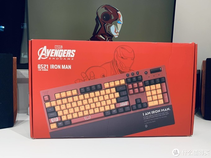 送媳妇爱你3000遍,G521钢铁侠版机械键盘开箱