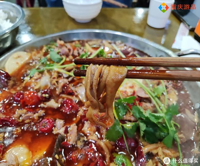 重庆一家宝藏美食店,微酸偏辣的味道,有正宗黔江鸡杂的影子