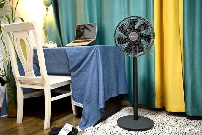 夜未央,风轻盈:智米落地电风扇3使用感受