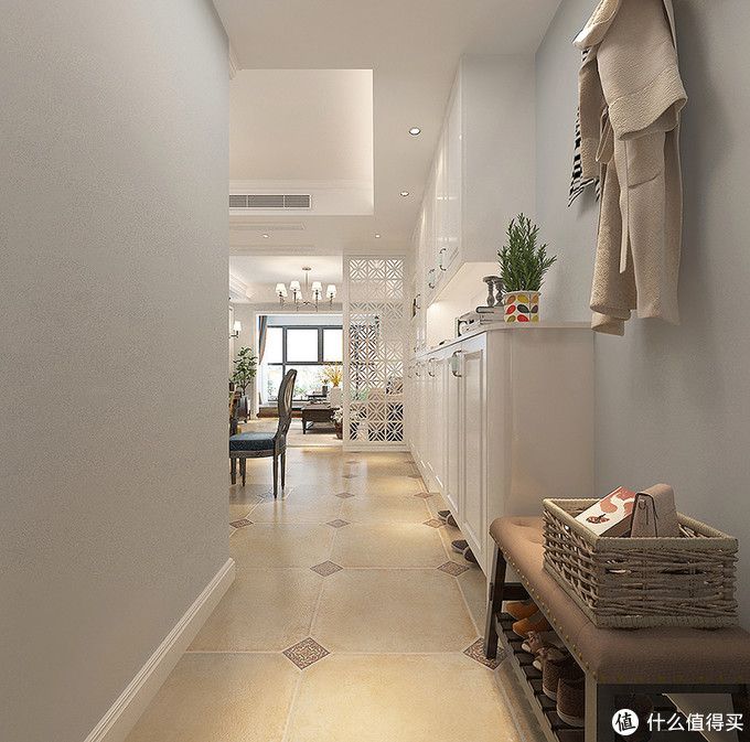 她把三居室改成两居室,把主卧室做成一个大套间,舒适不止一点点