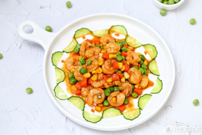 颜值与美味并存的减脂餐,鲜美营养热量低,色彩缤纷适合春季食用