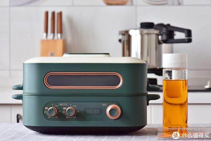 可以做饭吃火锅的烤箱?美的双子炉新出黑科技,小白秒变大厨