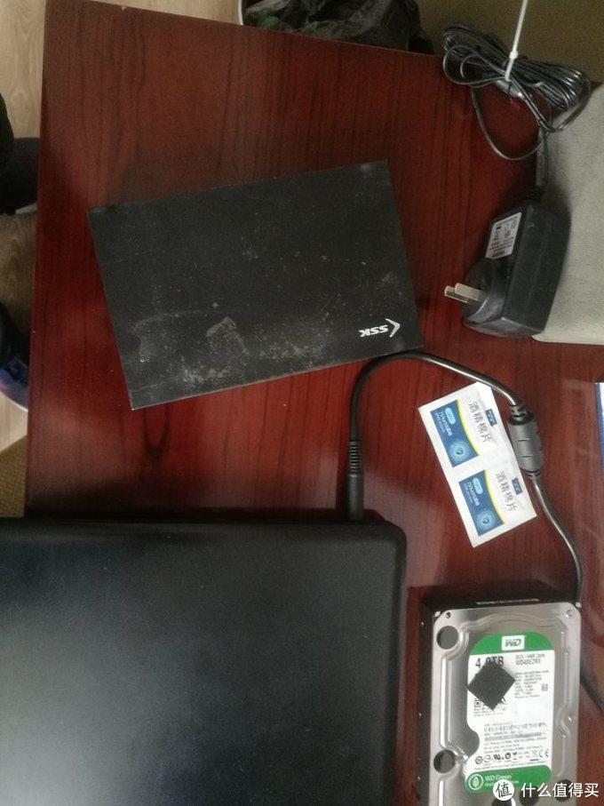 40块钱的飚王SSK HE-G3000硬盘盒开箱测评