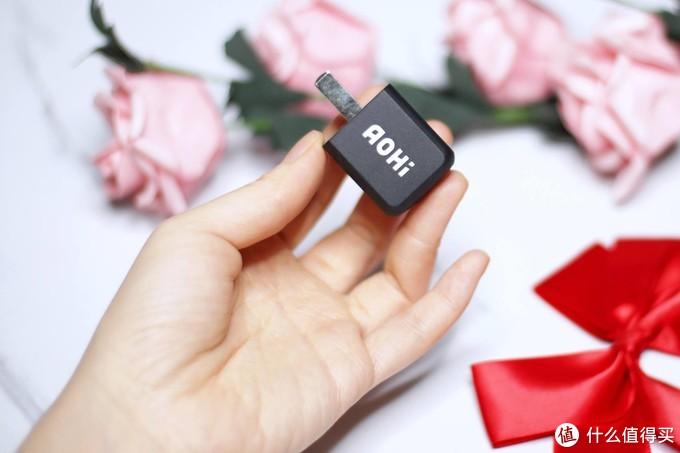 拇指大小,AOHI Magcube30W氮化镓充电器