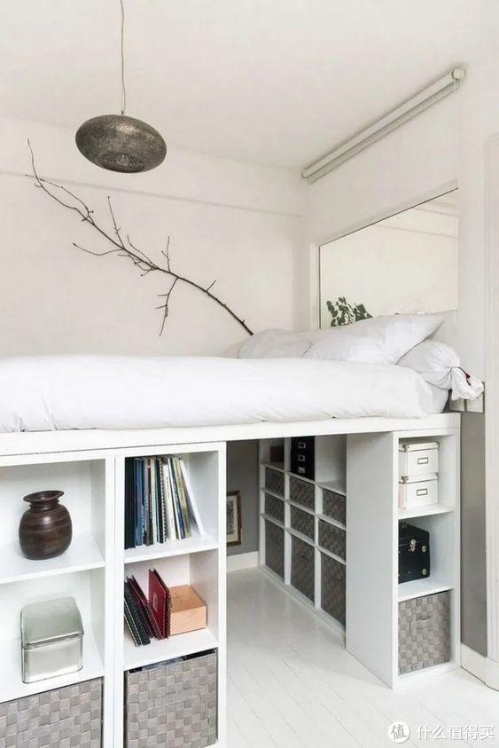 谁说卧室只有一种功能,看它就很不一样
