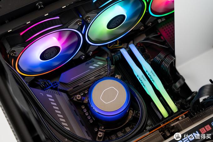 酷冷至尊 G360 幻境 ARGB水冷散热器 简单评测