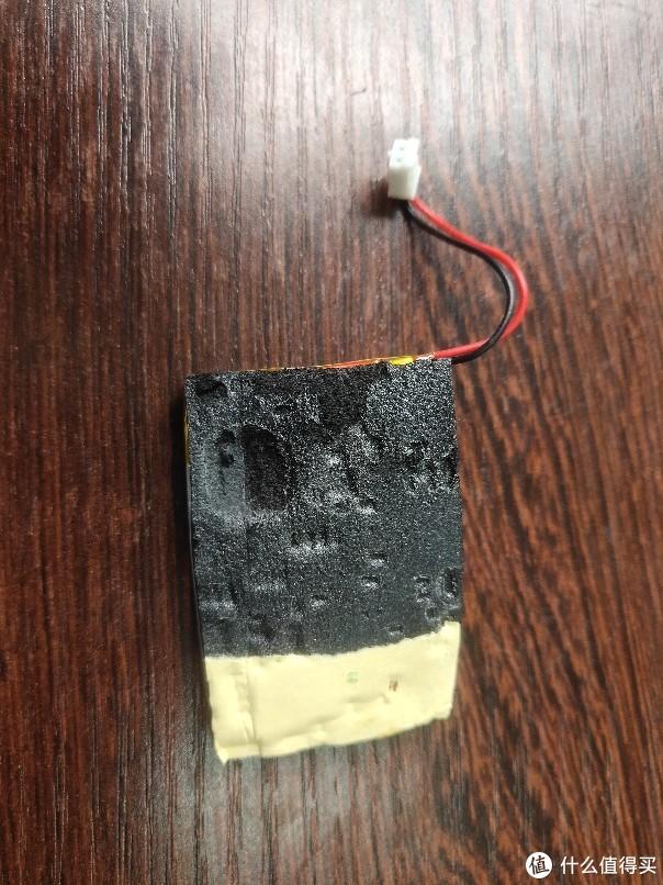 电池上粘的泡沫海绵